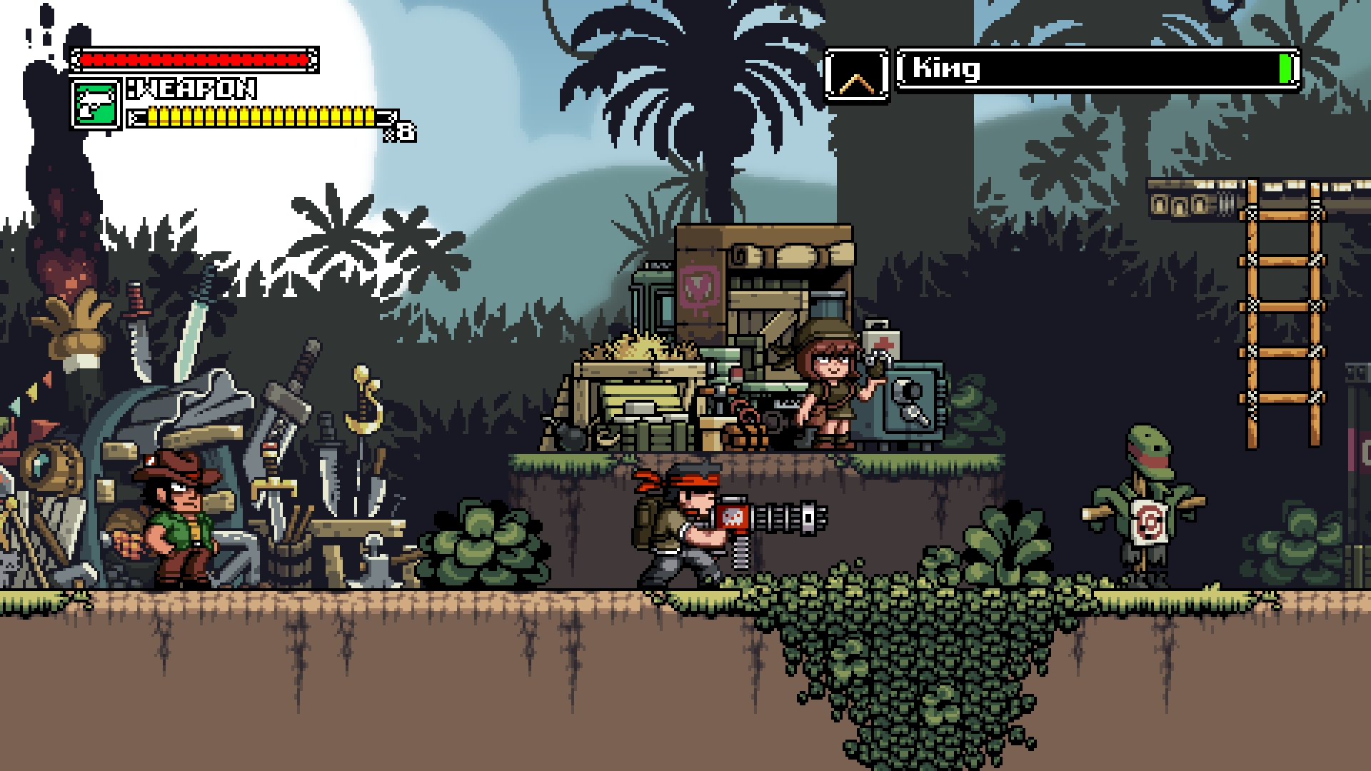 Test de Mercenary Kings
