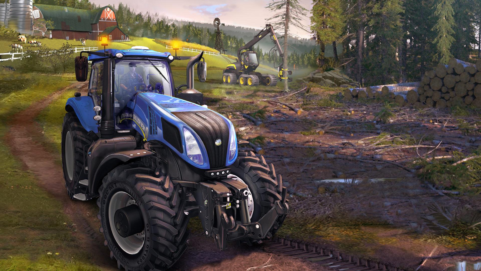 Playmag farming simulator 15 au salon de l agriculture for Salon de l4agriculture 2015