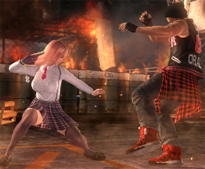 Dead or Alive 5 Last Round : 20 minutes de gameplay avec Honoka