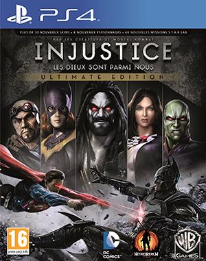 Jaquette de Injustice : Les Dieux sont parmi nous – Ultimate Edition