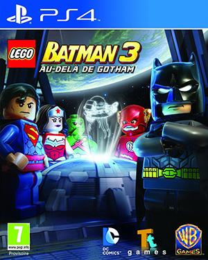 Jaquette de LEGO Batman 3 : Au-delà de Gotham