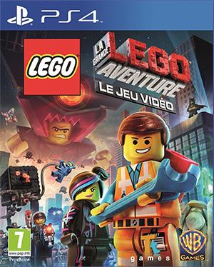 Jaquette de LEGO La Grande Aventure – Le Jeu Vidéo