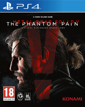 Jaquette de Metal Gear Solid V : The Phantom Pain
