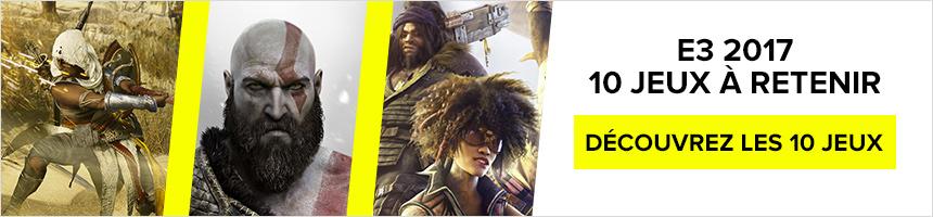 E3 2017 - 10 jeux à retenir
