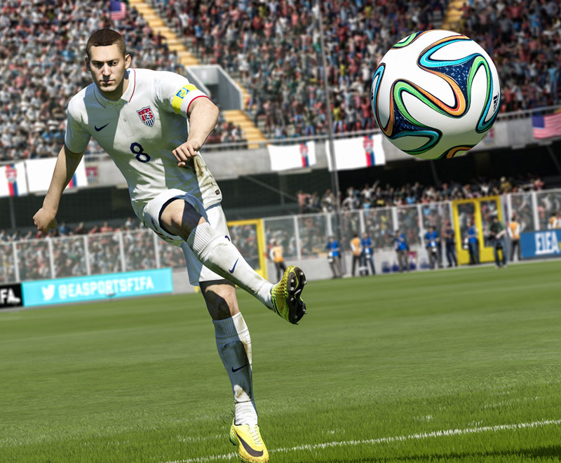 Le gameplay de FIFA 15 dévoilé à l'E3