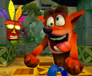 Crash Bandicoot explose les charts anglais !