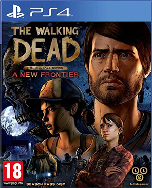 Jaquette de The Walking Dead : A New Frontier