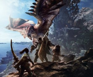 Une énorme vidéo de gameplay pour Monster Hunter World