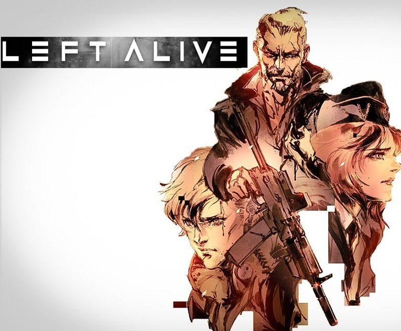 Square Enix annonce un nouveau projet du nom de Left Alive et livre un premier trailer survitaminé